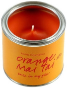 Bomb Cosmetics Scented Candle Tin, Orange Mai Tai