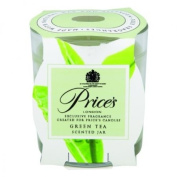 Prices Patent Candles Green Tea Scented Jar