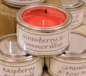 Pintail Candles Pintail Candle Filled Tin - Strawberry & Summer Wine
