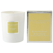 Max Benjamin Lemongrass and Ginger Scented Glass Candle in Gift Box