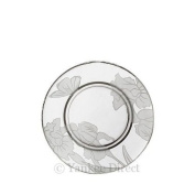 Yankee Iris Etched Glass Small Tray