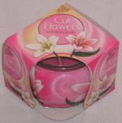 Glass Pot Candle - Cut Flowers