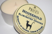 Prices Household Candle in a Tin - Eliminates Odours