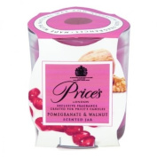 Prices Patent Candles Pomegranate and Walnut Scented Jar
