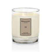 #39 Ambiance scented candle in glass by Bahoma London