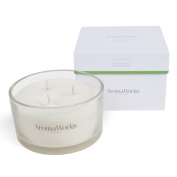 AromaWorks 3 wick Inspire Scented Candle