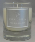 Eve Victoria Rose and Sandalwood Scented Candle