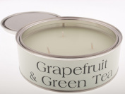 Grapefruit & Green Tea Large Scented Triple Wick Candle Tin