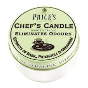 Odour Eliminating Scented Candle In a Tin Chefs Candle 3.5 x 6.5cm - Homewares