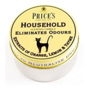 Odour Eliminating Scented Candle In a Tin Household 3.5 x 6.5cm - Homewares