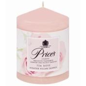 Prices Fragrance Pillar Candle Tea Rose