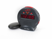 Sonic Alert Junior Sonic Bomb Extra Loud Alarm Clock with vibrating shaker pad