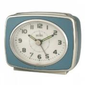 Acctim 13879 Retro 2 Alarm Clock, Blue