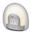 Maxim LED Sunrise Alarm Clock with 10 Natural Sound Alarms, Gradual Light Up