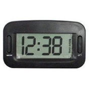 JUMBO DIGITAL CLOCK INC BATTERY Shows hours, minutes, month and date