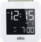 Braun Digital Travel Clock, White