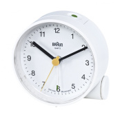 Braun Crescendo Alarm Clock, White