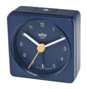 Braun Square Travel Alarm Clock, Blue