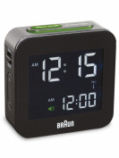 Braun Digital Alarm Clock, Blue