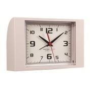 London Clock Co White Retro Alarm