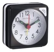 Technoline Geneva - Quartz Alarm Clock with Light - Black