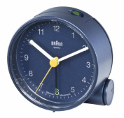 Braun Crescendo Alarm Clock, Blue