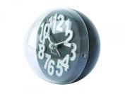 Karlsson Alarm Clock Numbers In Relief Plastic Black