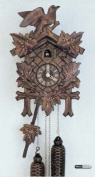 German Cuckoo Clock 1-day-movement Carved-Style 23cm - Authentic black forest cuckoo clock by Anton Schneider