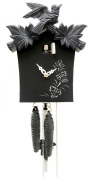 German Cuckoo Clock 1-day-movement Modern-Art-Style 23cm - Authentic black forest cuckoo clock by Rombach & Haas