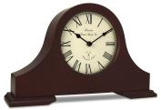 Acctim 77086 Dalton Mantel Clock, Dark Wood