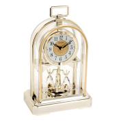 Classic High Quality RHYTHM Gilt Arch Anniversary Mantel Clock