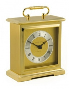 London Clock Co Gold Finish Quartz Chiming Mantle Clock
