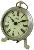 Smiths Smiths Small Chrome Fob Style Mantel Clock