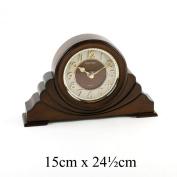 Classic Brown 3D Dial Napoleon RHYTHM Mantel Clock