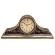 Bronze Roman Style Mantel Clock - Napoleon Style
