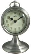 Smiths Smiths Mantel Clock, Satin Chrome
