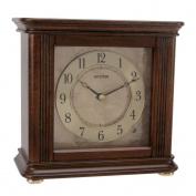 Beautiful Sea Shell Design RHYTHM Novelty Musical Mantel Clock