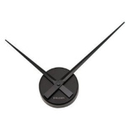 Karlsson Wall Clock Little Big Time Mini Black KA4348BK