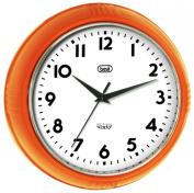 Trevi 3314 Original Sixty Retro Wall Clock Orange
