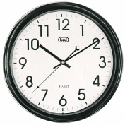 Trevi 3308 Clear Display 30cm Silent Quartz Wall Clock