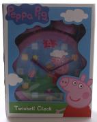 Peppa Pig Twinbell Wall Clock