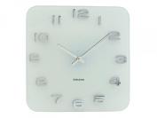 Karlsson Vintage Glass Wall Clock, White
