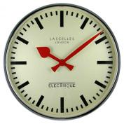 Roger Lascelles Chrome Retro Wall Clock