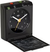 Braun Quartz Classic BNC005BKBK Travel Alarm Black