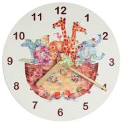 Nursery Clock,Noah's Arc Clock,Kids Clock,Child's Clock