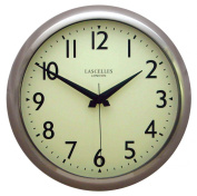 Roger Lascelles, Chrome Retro Wall Clock