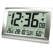Technoline WS 8009 Radio-Controlled Clock Silver