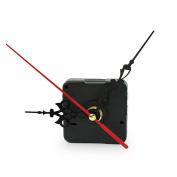 RHX Quartz Clock Spindle Movement Mechanism Repair Part Kit Black Diy Tool Hand Work.