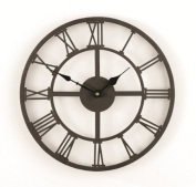 GARDMAN ROMAN NUMERAL WALL CLOCK 34CM HOME/GARDEN NEW