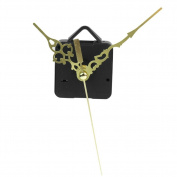 RHX Quartz Clock Movement Mechanism Long Spindle Gold 3 Hand Repair Kit Parts DIY